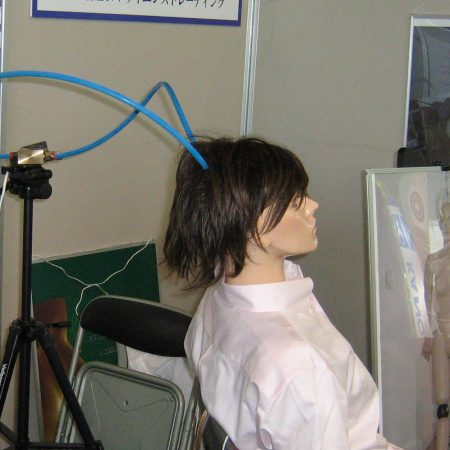 A breathing manikin used for research